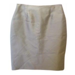 St. John Grey Pencil Skirt 8 M